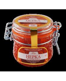 Икра красная зернистая Нерки 250 гр. ст.